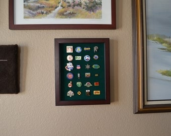 16x20 Lapel Pin Display 120 Pins
