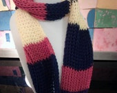 multi color infinity scarf, multi color, winter trends