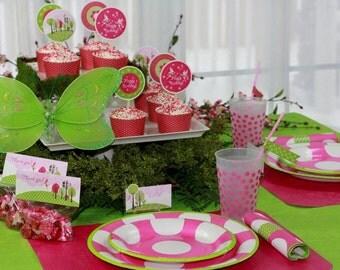 Woodland FAIRY Birthday PARTY Supplies - The Celebration Shoppe