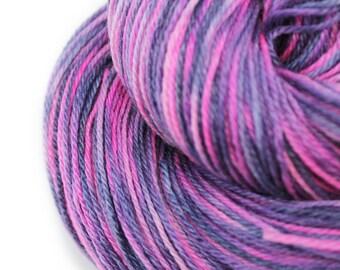 Hand Dyed Panda Sock Yarn - 60/ 30/ 10 blend Superwash Merino Wool, Bamboo & Nylon - 4oz/ 113g - 430yds/ 393m - Hand Painted