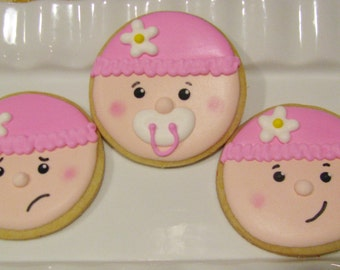 Baby Face Cookies
