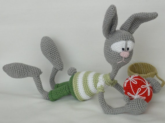 Funny Bunny After Easter Amigurumi Crochet Pattern by IlDikko