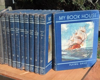 12 Volumes of My Book House dated 1937
