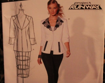 New Look 6099 Project Runway ladies jacket pattern