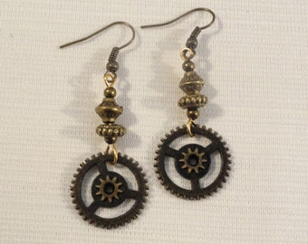 Steampunk  Earrings