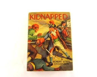 "1935 Book ""Kidapped"" by Rober Louis Stevenson"