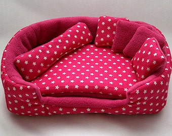 Cosy cuddle lounge bed with waterproof blanket and 5 for How to make a guinea pig bed
