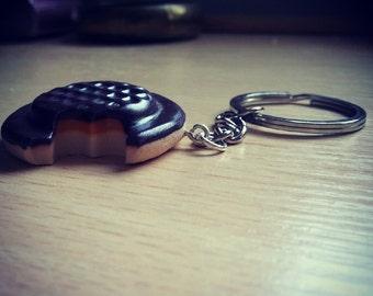 Jaffa Cake Keychain