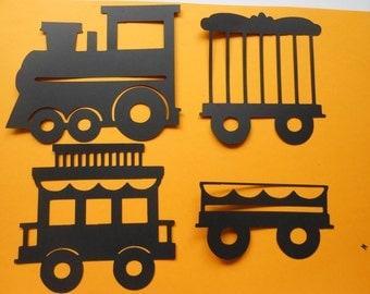 Circus Train DieCuts -cc