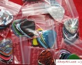 Assorted Guitar Picks With Optional Holes For Jewelry Making