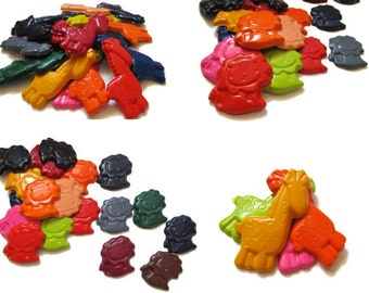 Giraffe and Lion Crayons set of 40 - party favors