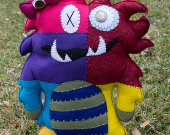 Snaggle Toothed Plush Monster