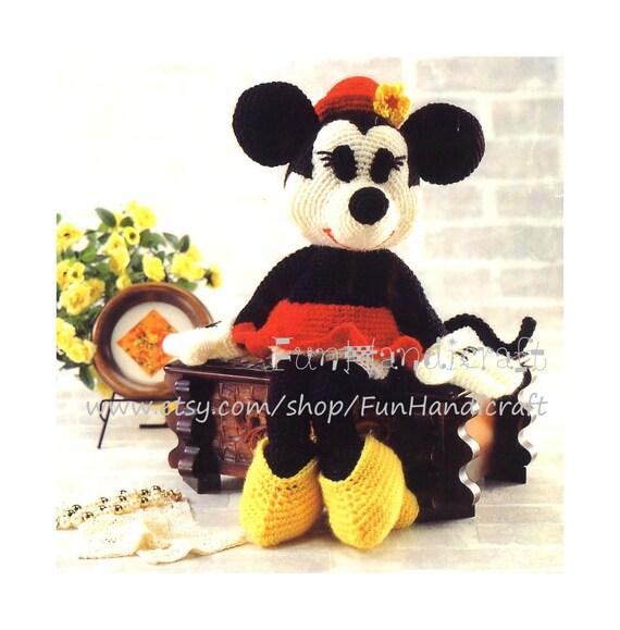 Crochet Pattern Owl Amigurumi : Disney Minnie Mouse Amigurumi Pattern in English by ...