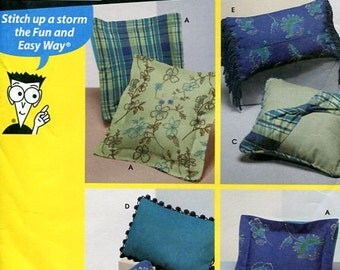 Simplicity 9873 Sewing patterns for Dummies, Pillow Patterns