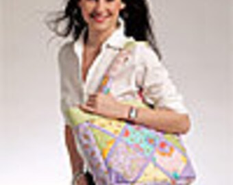 McCalls 5866 Quilted Tote Sewing Pattern