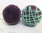 Guinness Dark Chocolate Cake Pops - 1 Dozen CONTAINS BEER/LIQUOR