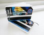 Urban Transit Notebook -- recycled CTA cards