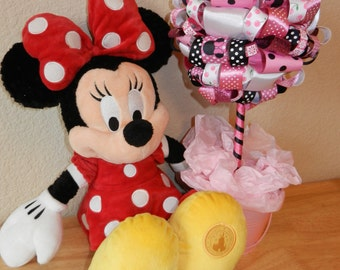"Minnie Mouse Topiary "" Cherry Crush"""