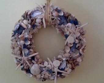 Mainely Sea Shell Wreath