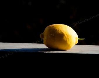 Lemon Shadow - 8x12 Original Photo