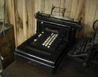Burroughs accounting machine