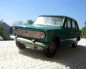 Soviet Vintage Car Model VAZ-2101 - Green colour - Made in USSR - Collectable
