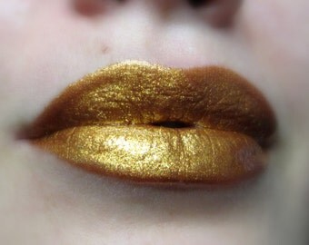 Cleopatra's Pride - Golden Liquid Lipstick/Lip gloss