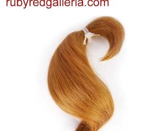 BD0005MH3 Auburn Curve ReBorn Toddler Hair 0.25 oz