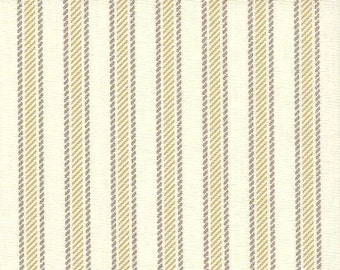 Boulevard Grey Stripe cotton fabric by the yard Magnolia Home Fashions