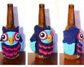 Owl Bottle Cozy