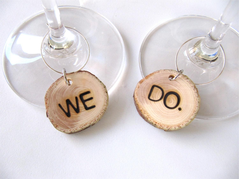 custom wine charm personalized wine charm wedding wine