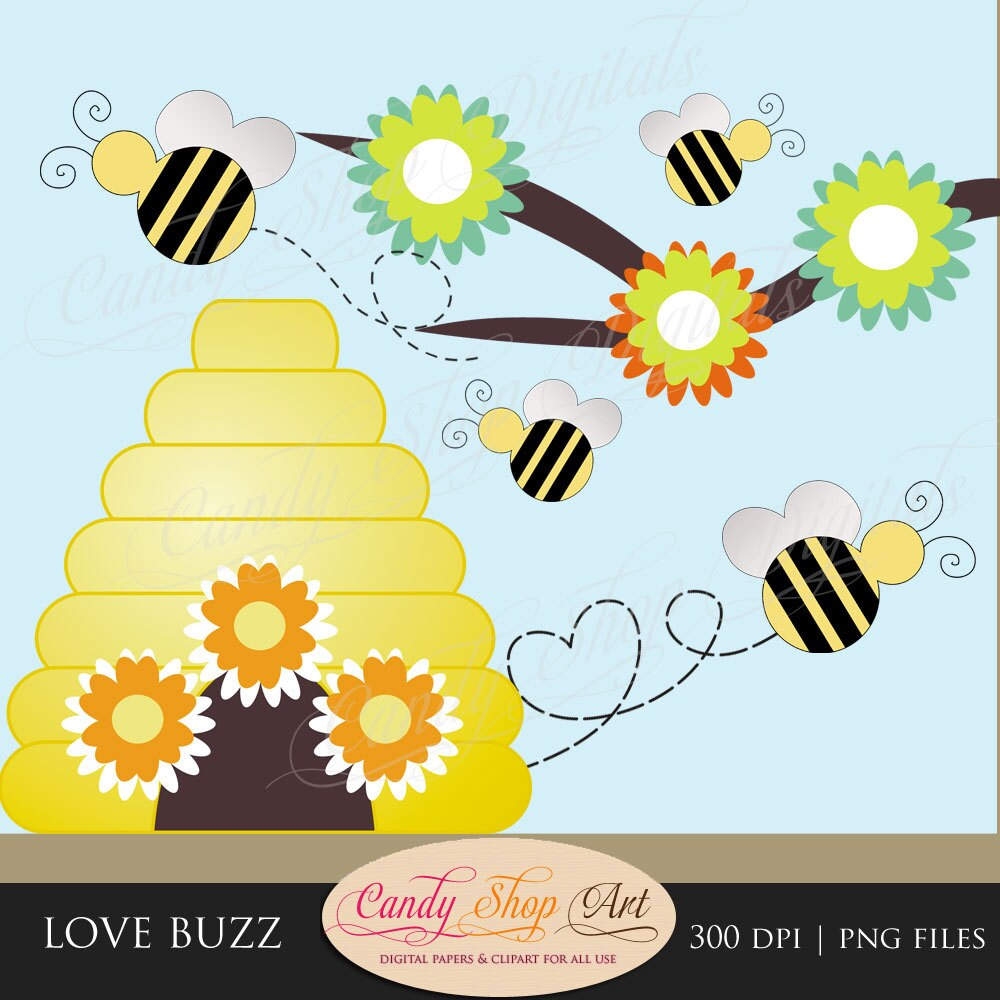 Bumble Bee Hive Clip Art Bee clip art, bee hive,