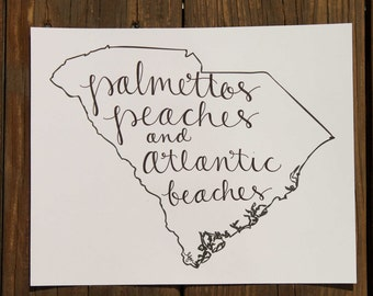 South Carolina: Palmettos, Peaches, and Atlantic Beaches