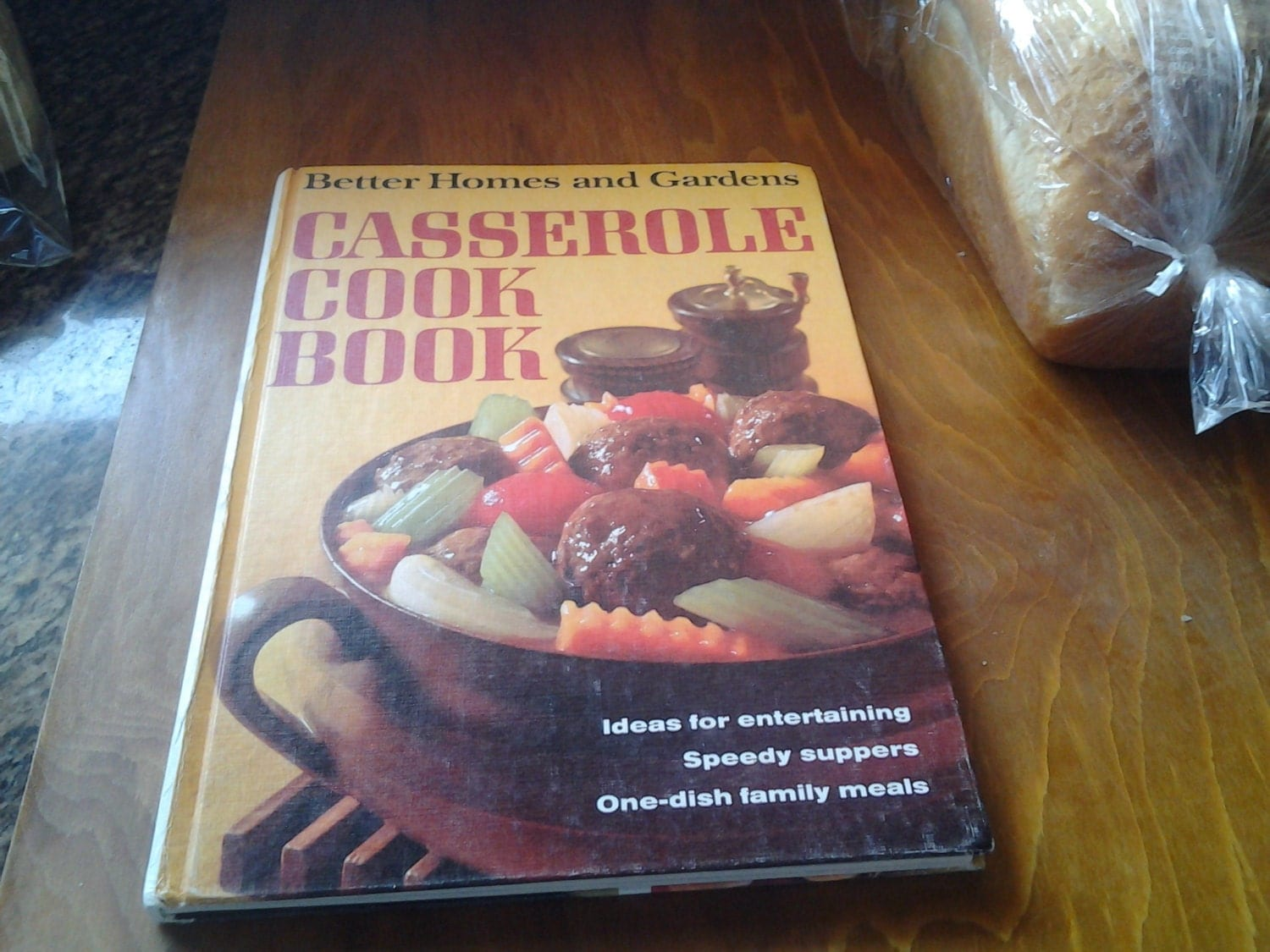 On Sale 1968 Better Homes And Gardens Casserole Cookbook