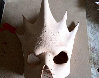 DEVIL MASK - LEATHER devil mask