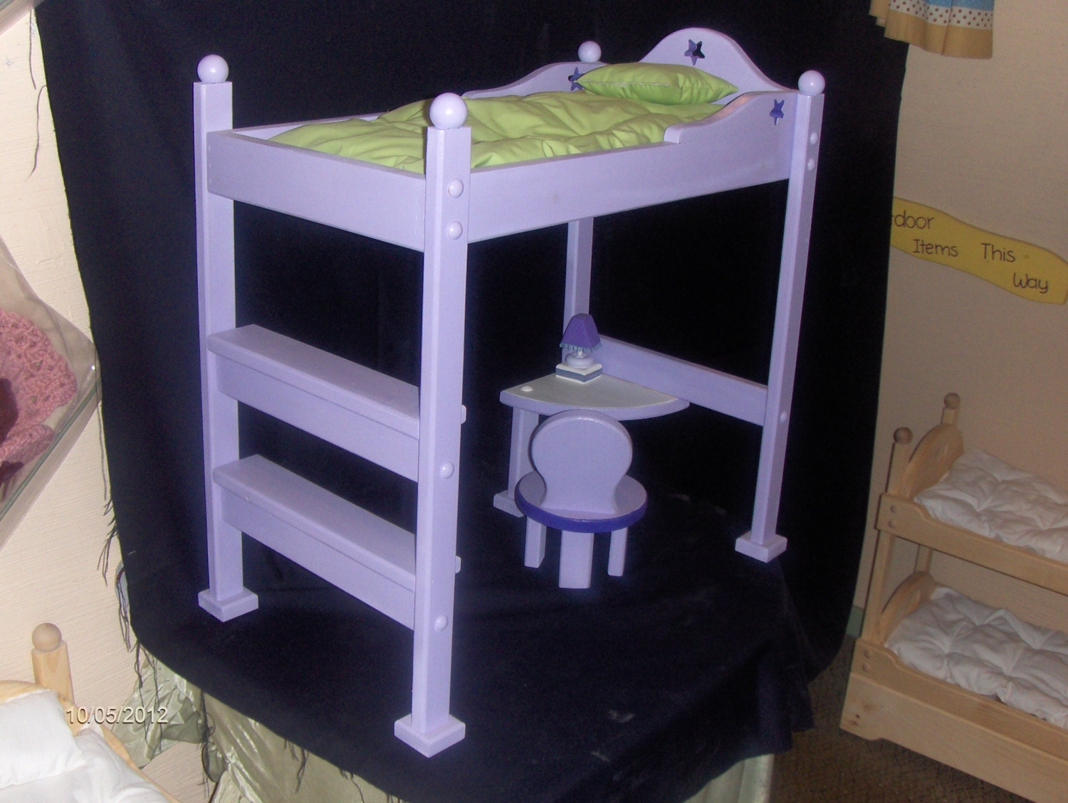 Doll Loft Bed Like The American Girl Doll Mckenna Bed By Dcwp