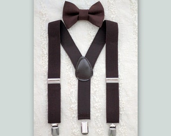 baby boy bow tie suspenders set..baby suspenders.. baby boy suspenders..boys suspenders..ring bearer outfit..boys wedding outfit..summer