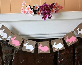 BUNNY Banner Easter Banner for r You Easter Party