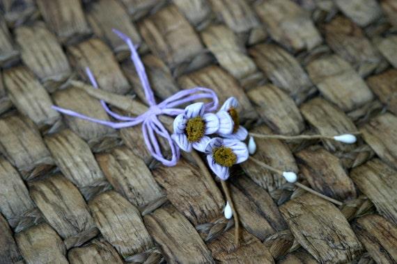 Rustic Lilac Shabby Chic Flower Embellishment FL-027