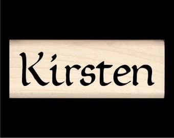 Name Stamp - Kirsten