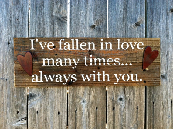 Made To Order Rustic Country Wood Wall Decor Handmade Love