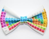 Periodic Table Bow Tie, Periodic Table of Elements, Chemistry, Science, Elements, Geek Gift, Science Gift, Teacher Gift Ideas, Teacher Gifts