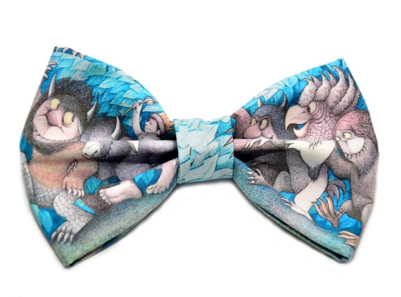 Where The Wild Things Are Hair Bow - Novelty Hair Bow