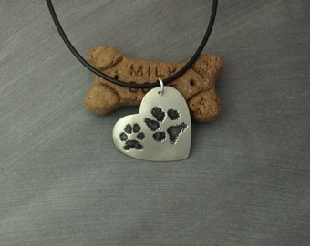 Additional Paw Prints (add-on to necklace listing)