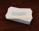 Premade Customized Etsy Business Card Photography Star
