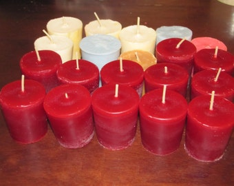 Handmade Highly Scented Soy Votives