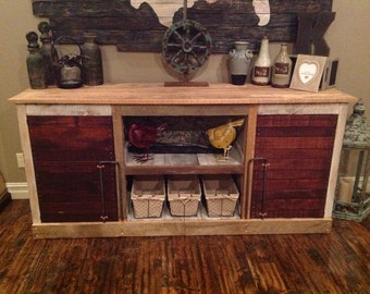Barnwood Entertainment Center (Justin collection)