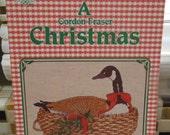 A Gordon Fraser CHRISTMAS Cross Stitch Pattern Leaflet