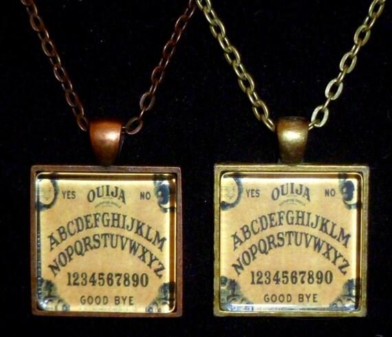 items similar to ouija pendant on etsy