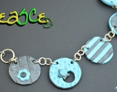 Handmade Polymer Clay Necklace - PeaSCe AAA-135